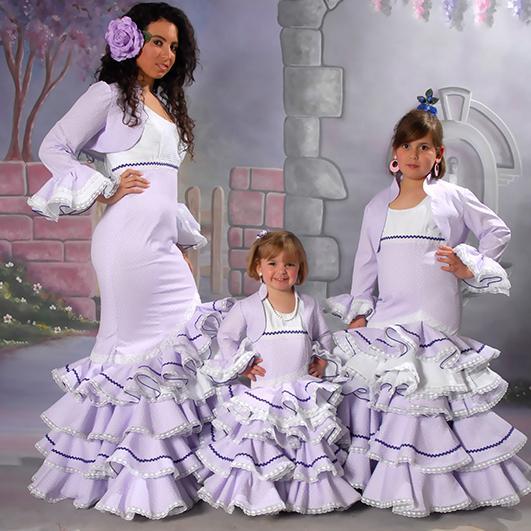 Trajes de flamenca infantil 12