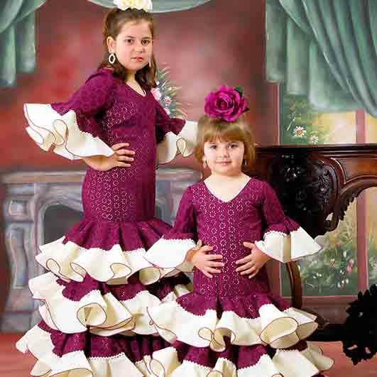 Trajes de flamenca infantil 17
