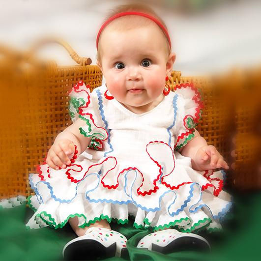 Trajes de flamenca infantil 9
