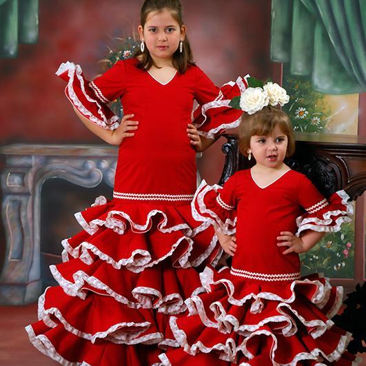 Trajes de flamenca infantil 13
