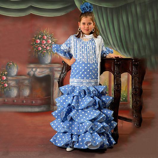 Trajes de flamenca infantil 15