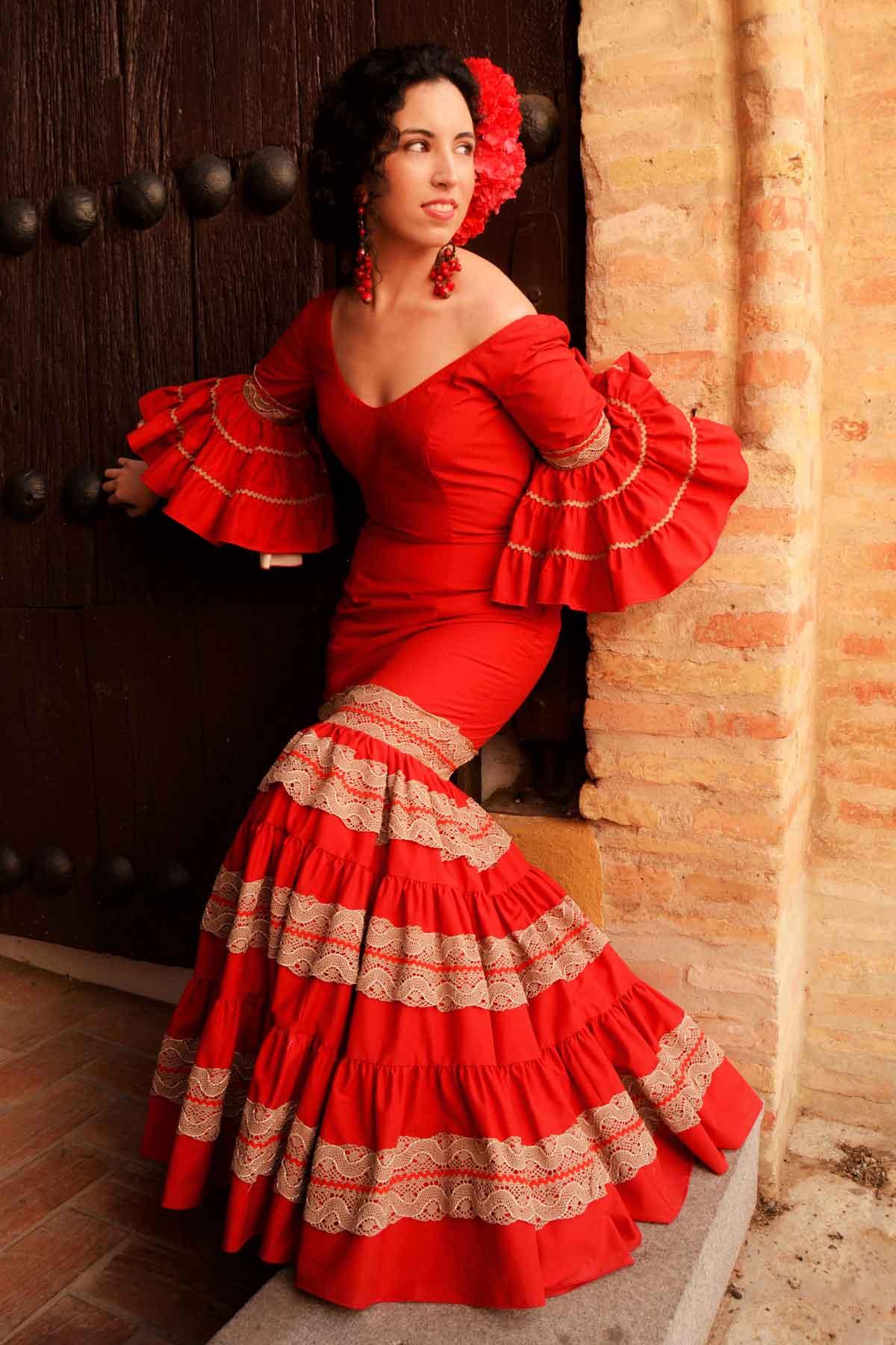 Oferta traje de flamenca