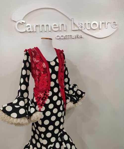 Chaleco flamenca plumeti rojo