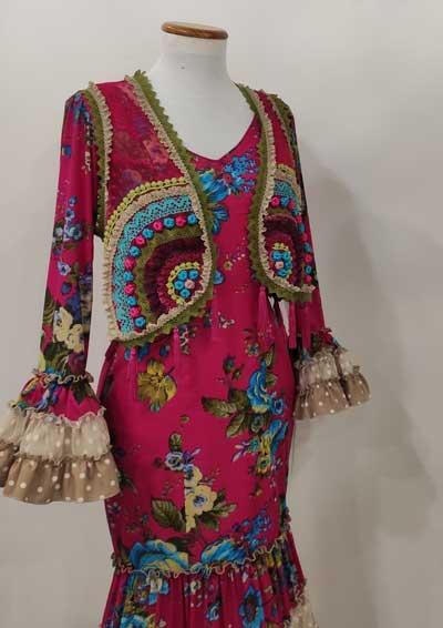 Chaleco flamenca color